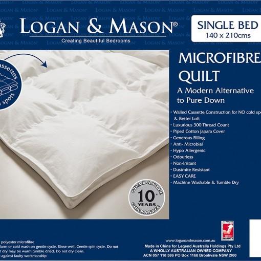 Microfibre Quilt by Logan & Mason