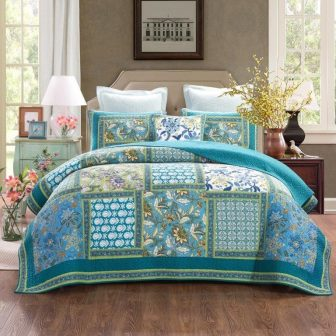 aquamarine coverlet