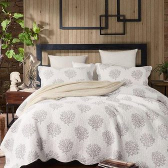 coral coverlet